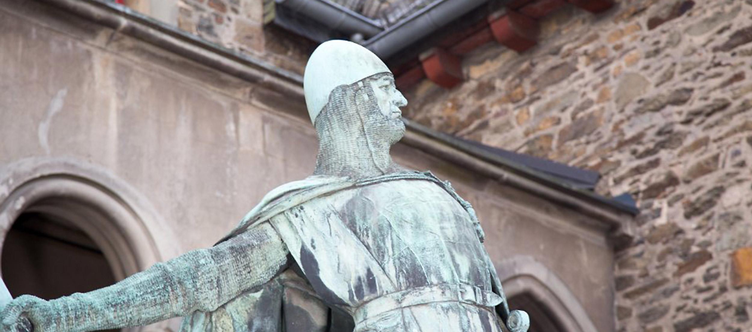 Graf von Berg auf Schloss Burg